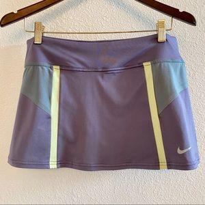 Nike Dri-Fit Tennis Skirt Purple Size L